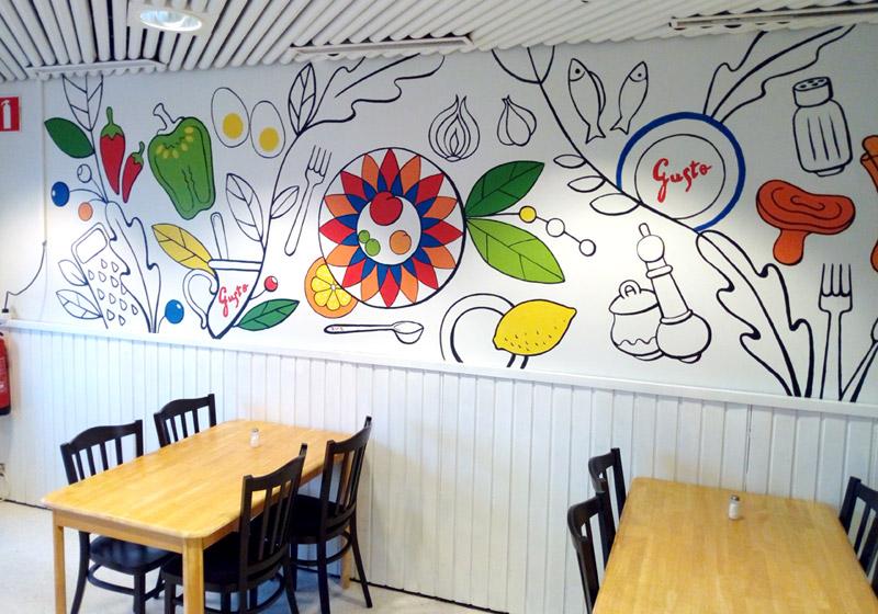 Haukilahden Lounasravintola Gusto Helsingissä
